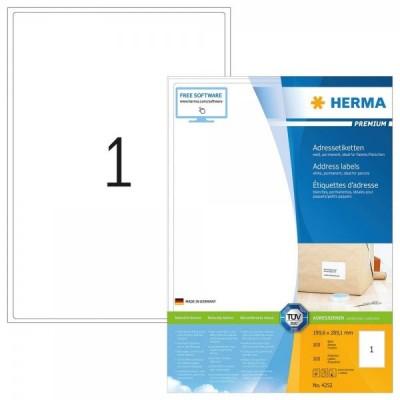 100 HERMA etykiety adresowe...
