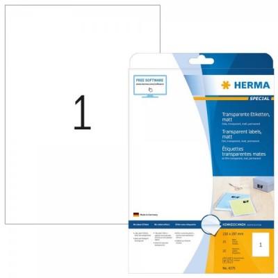 25 HERMA etykiety foliowe...