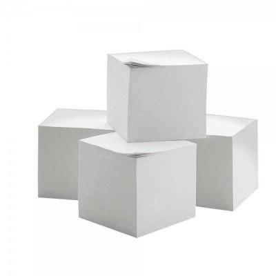 4 kostka notesowa biały...