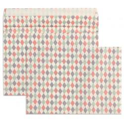 Koperty materiałowe biały...