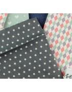 Koperty kolorowe tekstylne