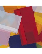 Koperty przezroczyste kolorowe